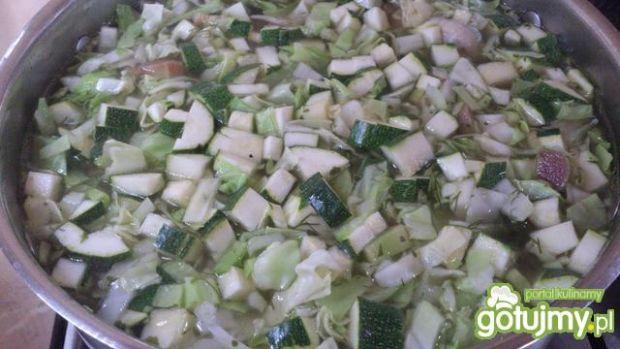 Cukinio - kapuśniak z nutką rabarbaru