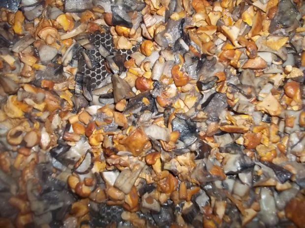 Cukiniowa zapiekanka z leśnymi grzybami
