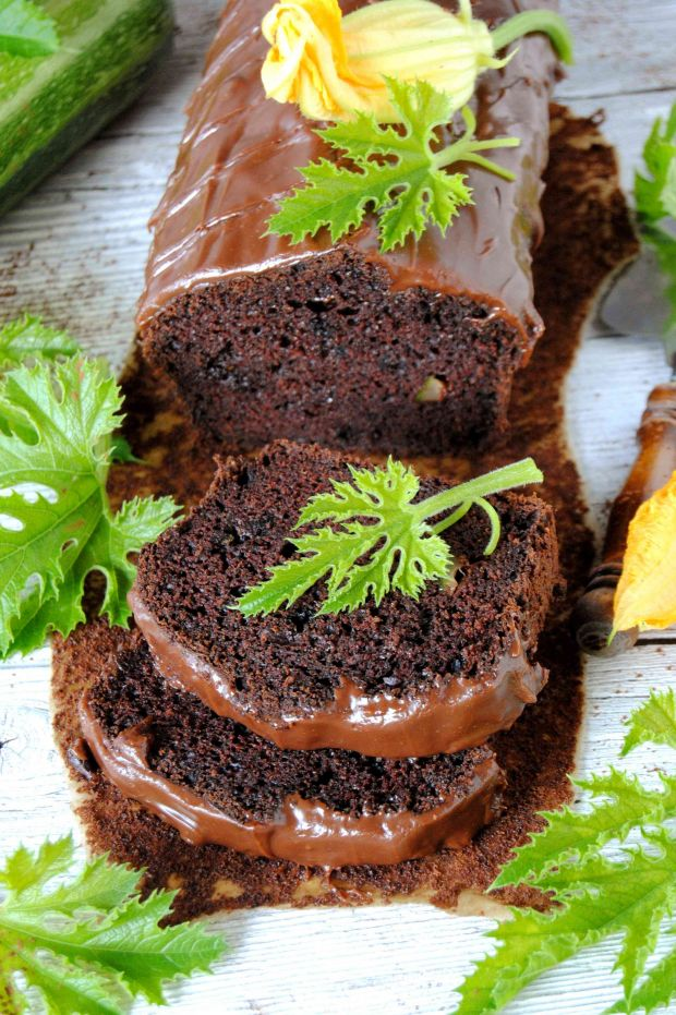 Cukiniowe  ciasto czekoladowe