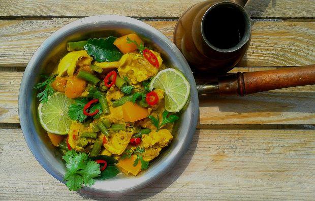 Curry z kurczaka z mango