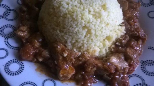 Curry z kuskusem