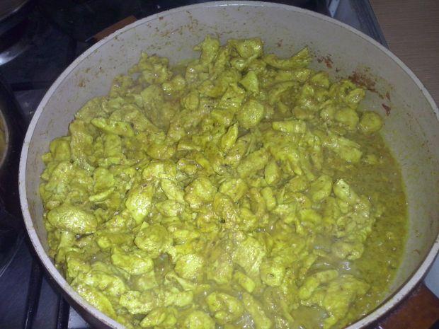 Curry z mleczkiem kokosowym