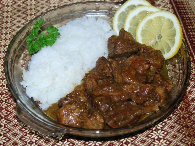 Curry z wieprzowiny -Shikar Kari