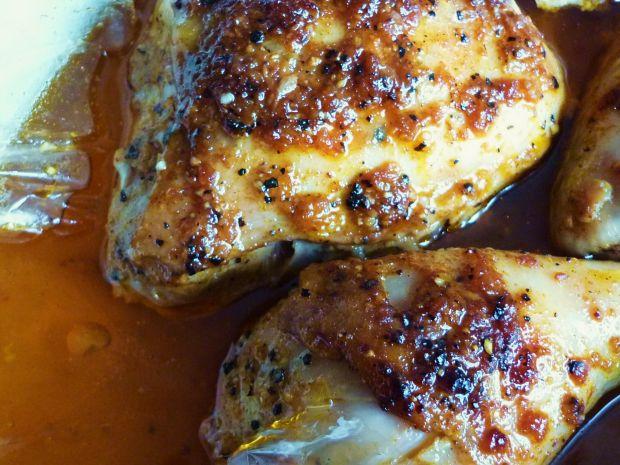 Ćwiartka z kurczaka marynowane w cydrze