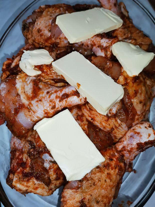 Ćwiartki kurczaka w keczupie