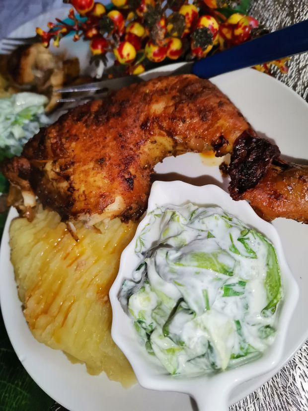 Ćwiartki kurczaka w przyprawach