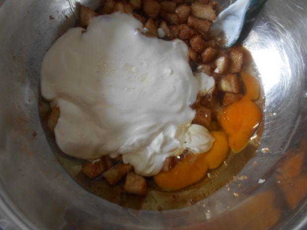 Cynamonowe muffinki z gruszkami