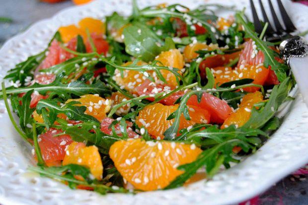 Cytrusowa sałatka