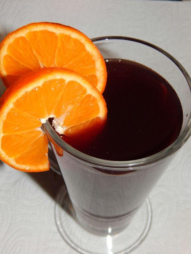 Cytrusowy grzaniec z czerwonym winem
