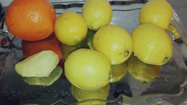 Cytryna z imbirem w syropie
