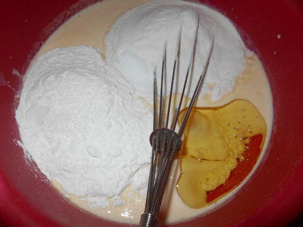 Cytrynowe gofry