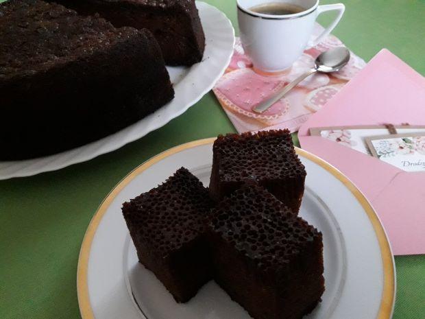 Czarna baba - ciasto z gęsiarki