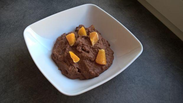 Czekoladowa kasza manna z pomarańczą