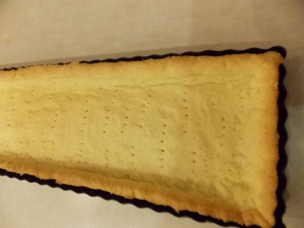 Czekoladowa tarta ze śliwkami z nalewki