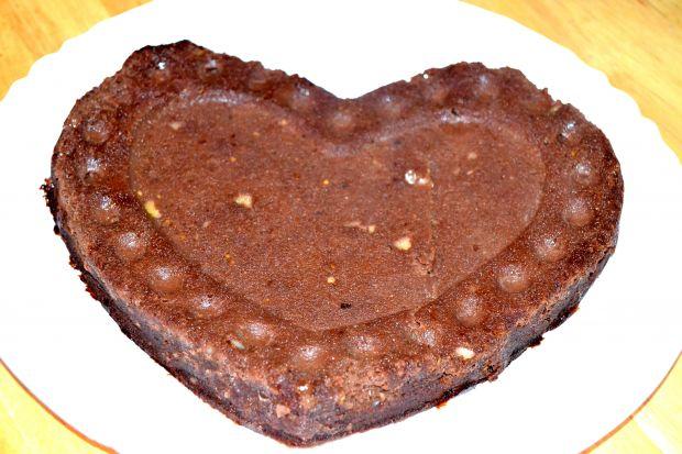 Czekoladowe brownie z bakłażanem