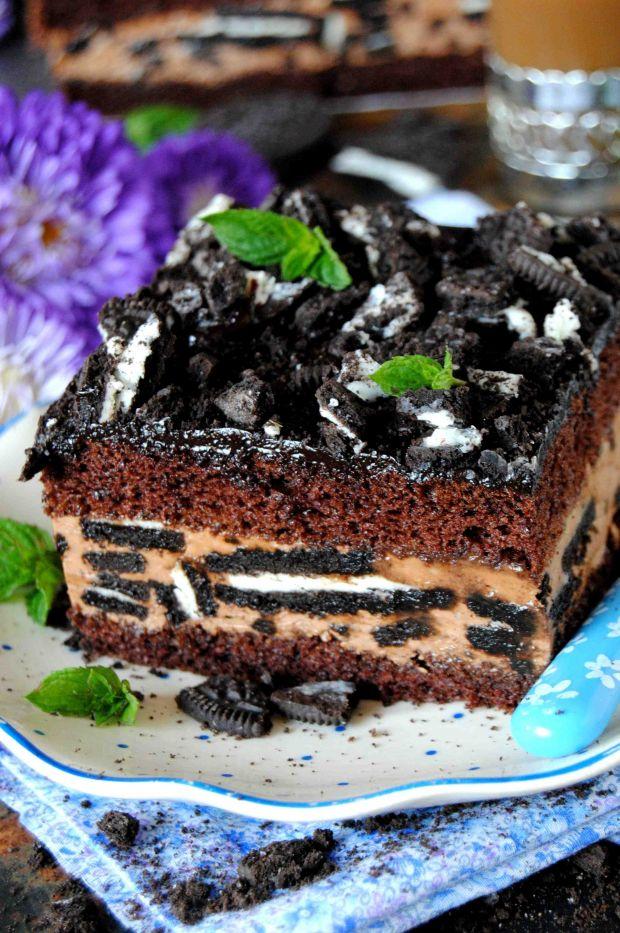 Czekoladowe ciasto oreo