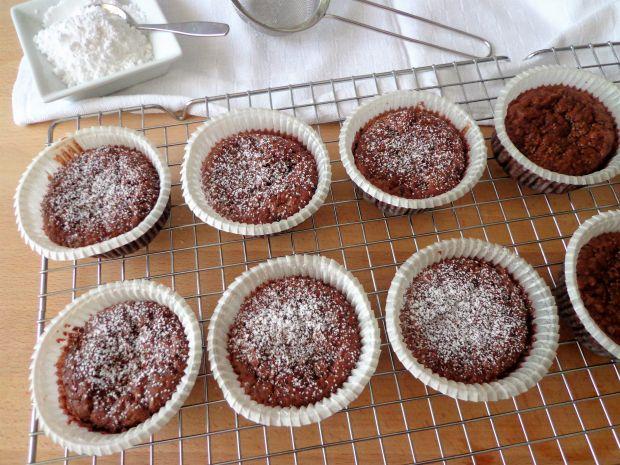 Czekoladowe muffiny z tapioki, bez glutenu