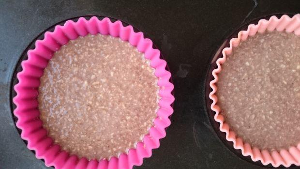 Czekoladowo-kokosowe babki z mleka skondensowanego