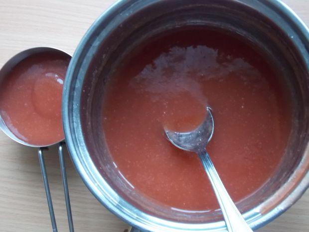 Czekoladowy torcik z rabarbarem