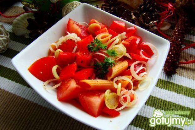 Czerwona sałatka