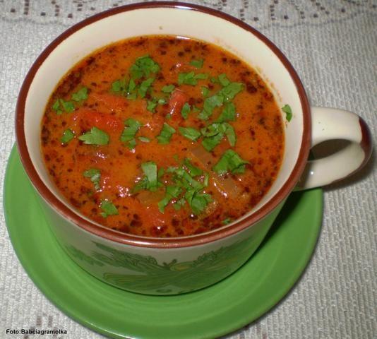 Czerwona zupka :
