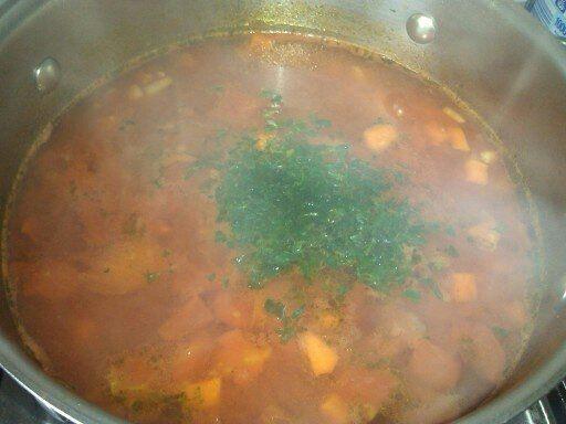 Czysta zupa pomidorowa