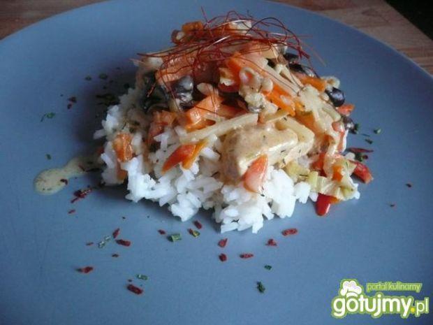 Danie Chińskie z ryżem wg Elfi