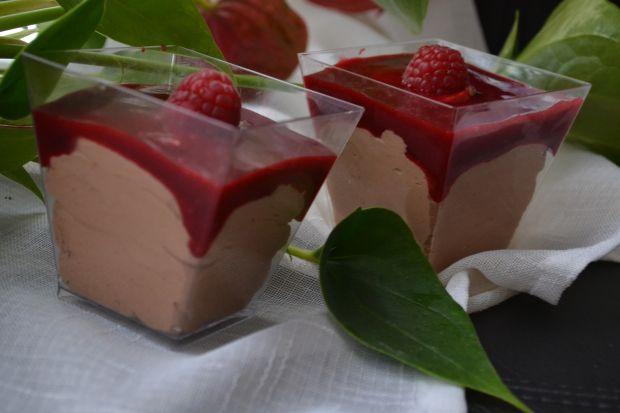 Deser czekoladowy -mus czekoladowy