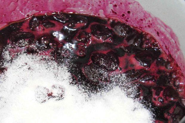 Deser czereśniowo- jogurtowy