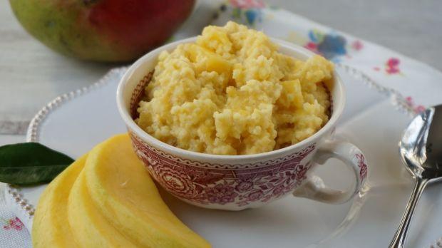 Deser jaglany z mango i kokosem (bez glutenu)