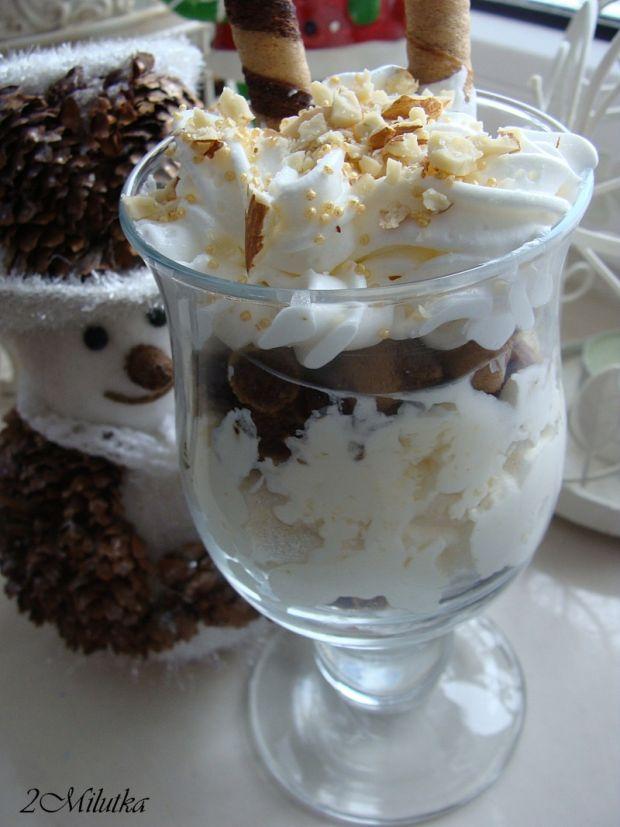 Deser kawowo-orzechowy