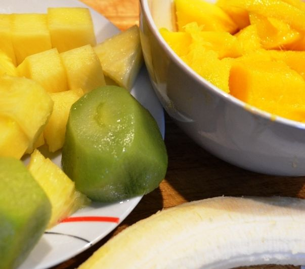 Deser - miksowane owoce