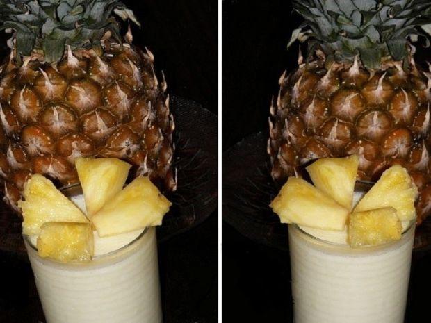 Deser Piña Colada z rumem