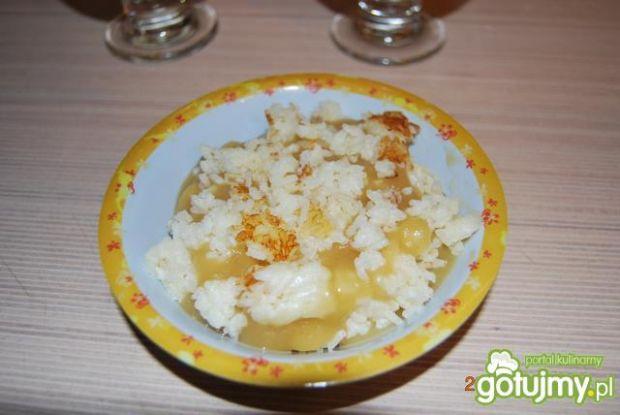Deserowy ryż z jabłkami