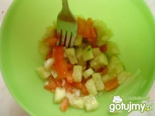 Dietetyczna sałatka do obiadu