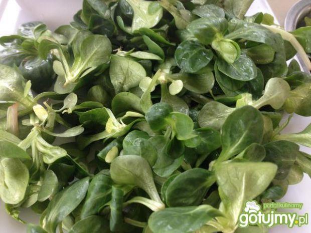 Dietetyczna sałatka z zieleniny