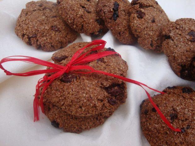 Dietetyczne ciasteczka otrębowe