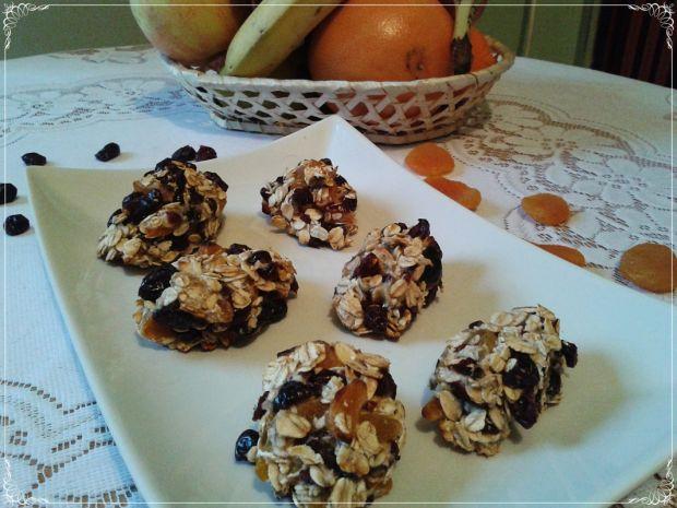Dietetyczne ciasteczka z żurawiną