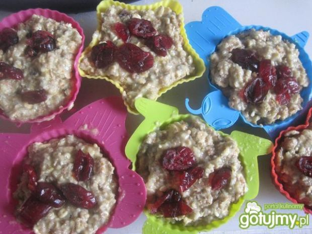 Dietetyczne Muffiny z mieszanki otrąb