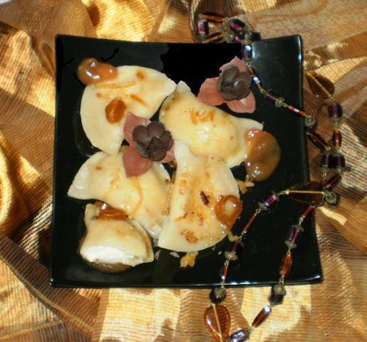 Dietetyczne pierogi z serem na słodko