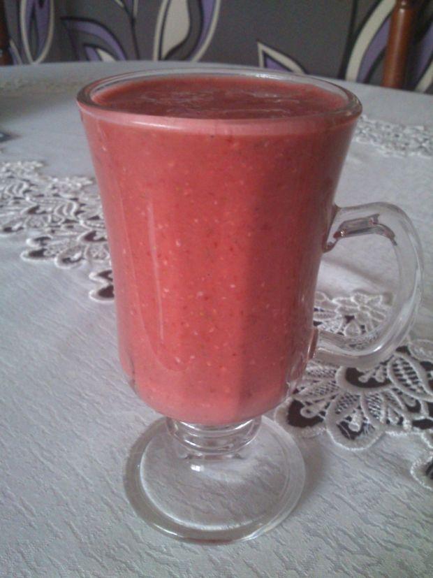 Dietetyczne truskawkowe śniadanie