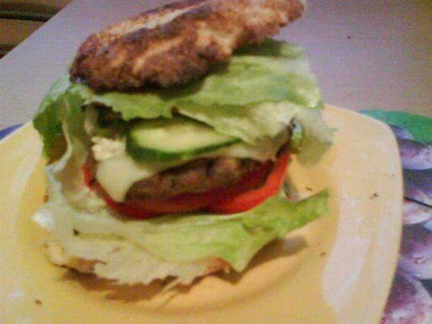 Dietetyczny hamburger