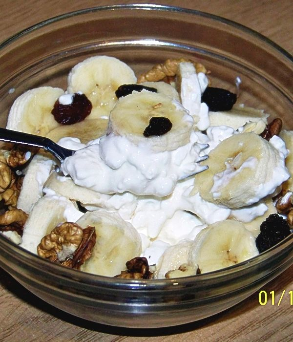 Dietetyczny i pożywny deser