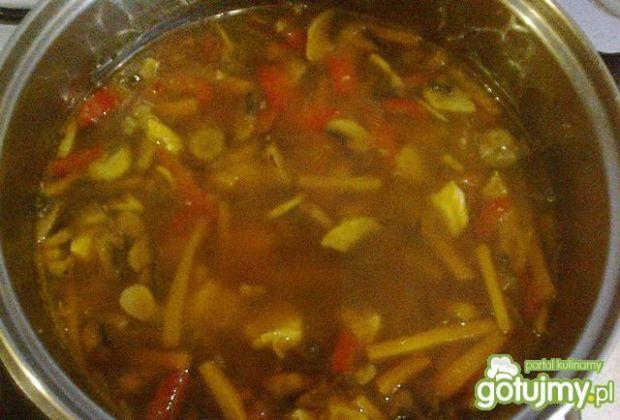 Domowa chińska zupa