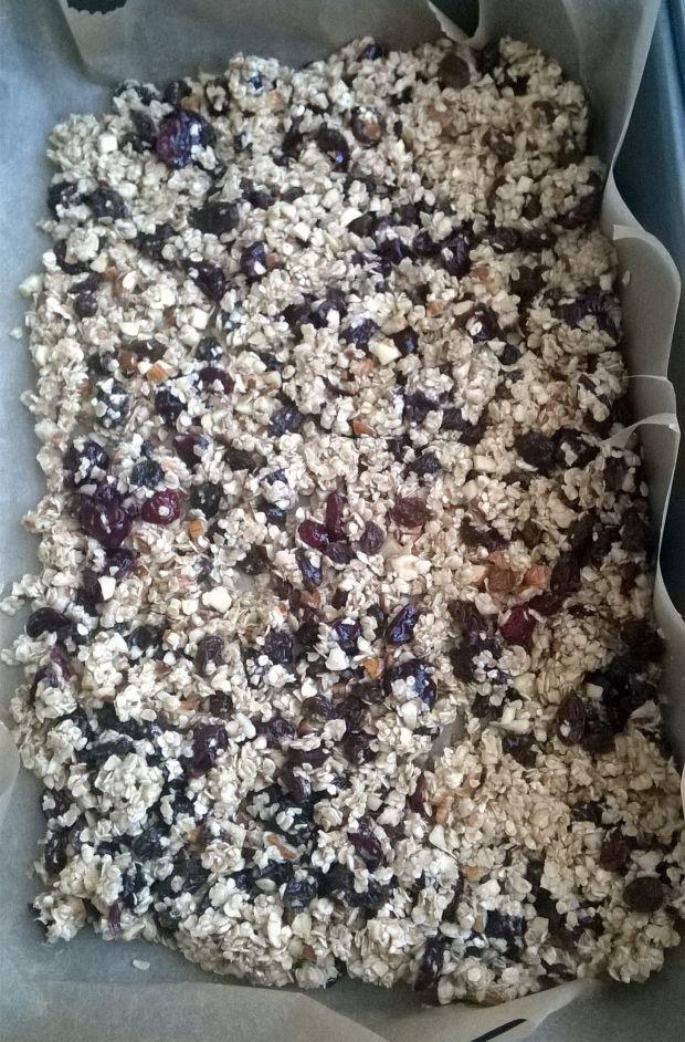 Domowa granola z bakaliami i miodem