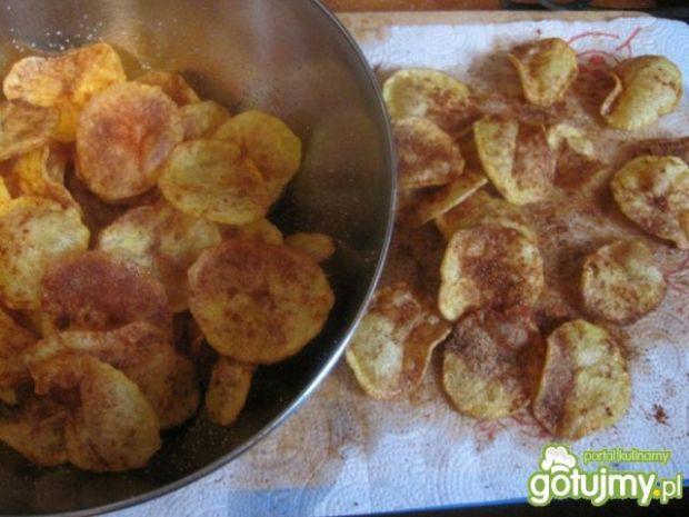 Domowe chipsy kartoflane wg Piotra
