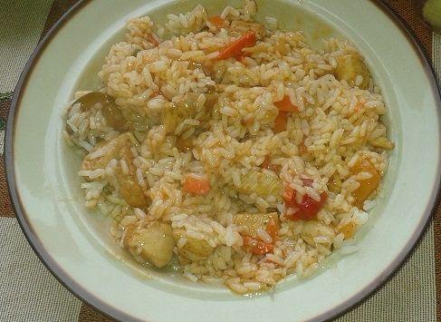 Domowe risotto z kurczakiem na pikantnie
