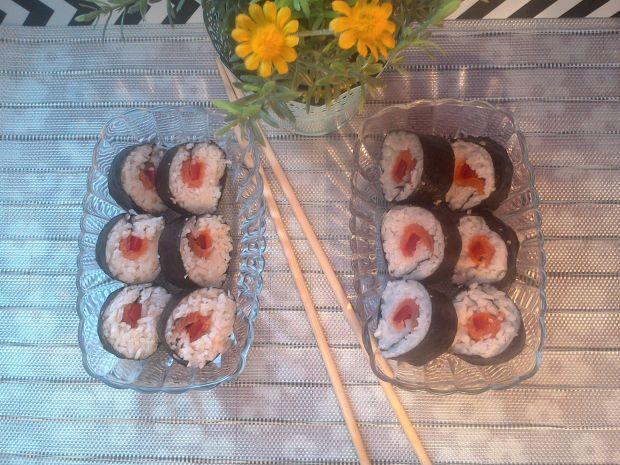 Domowe sushi futomaki