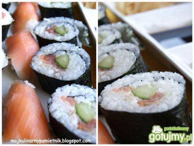 Domowe sushi maki