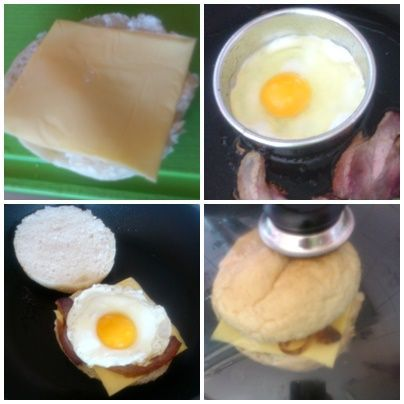Domowy a'a McMuffin